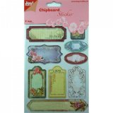 Chipboards  Joy bloemen Memory