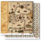 Scrapbooking Paper Pirates Maps