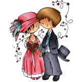 Stempel Don&Daisy Married