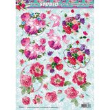 Studio Light Roses