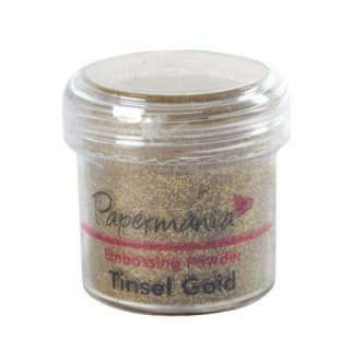 Embossingpulver Tinsel Gold
