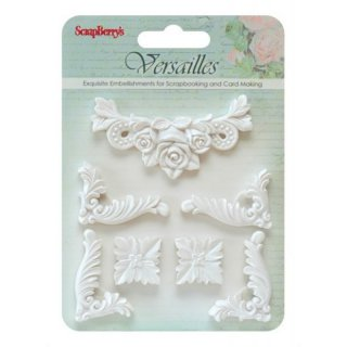 Embellishments Eckornamente Resin 3 80