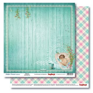 Scrapbooking Paper Bath Time